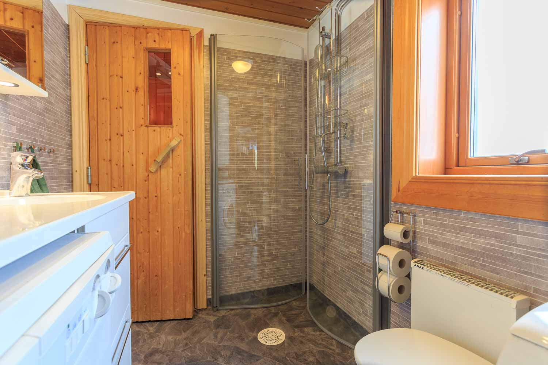 Toalett och dusch